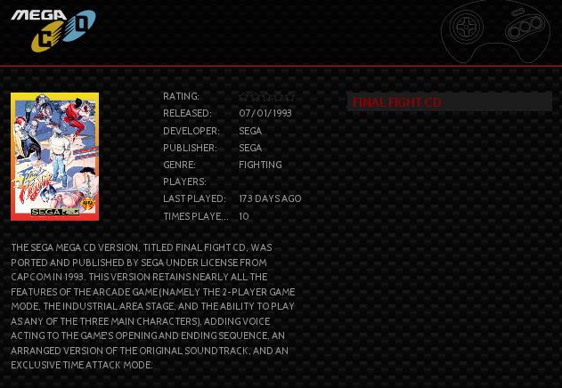 Sega CD games wrong extension in EmulationStation - RetroPie Forum