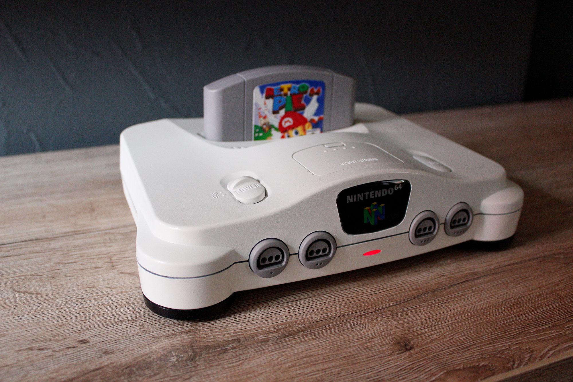 RetroPie64: My Nintendo 64 conversion - RetroPie Forum