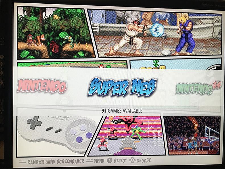 theme comic book recalbox