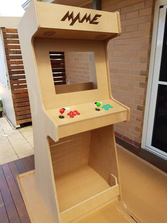 my upright arcade cabinet build retropie forum. Black Bedroom Furniture Sets. Home Design Ideas