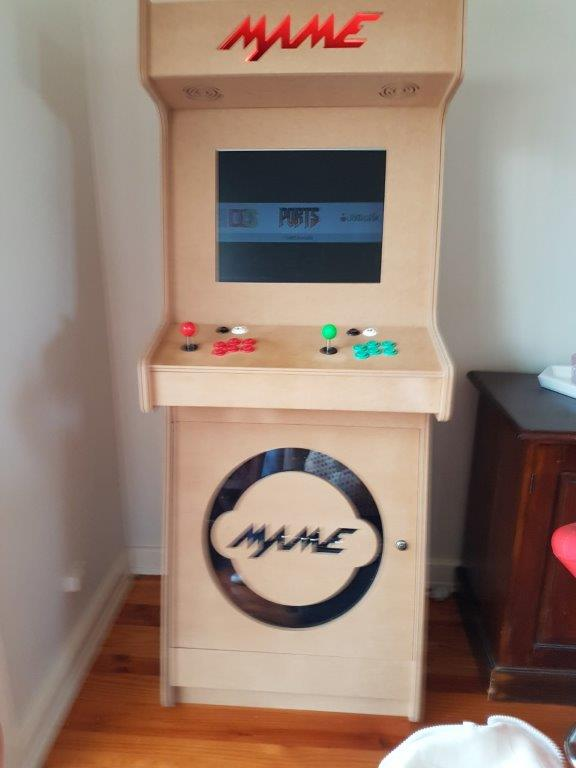 My Upright Arcade Cabinet Build Retropie Forum