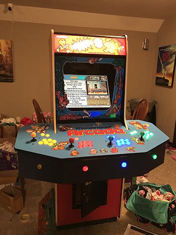 0_1498919564811_IMG_4145.JPG & Donkey Kong 3 Arcade Cabinet Restoration/Mod - RetroPie Forum