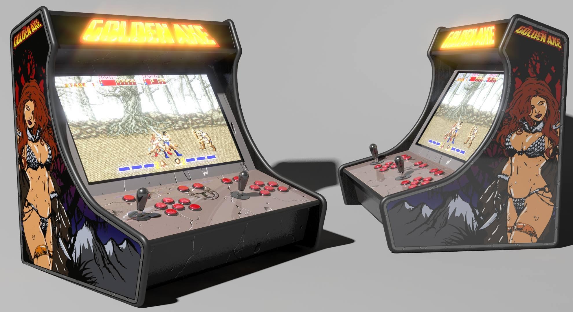 Bartop Arcade Artwok Template - RetroPie Forum