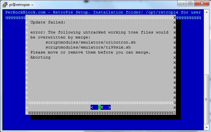 Unknown platform error? - RetroPie Forum