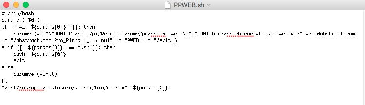 HOWTO: Pro Pinball: Timeshock! in Dosbox on Rpi3 - RetroPie