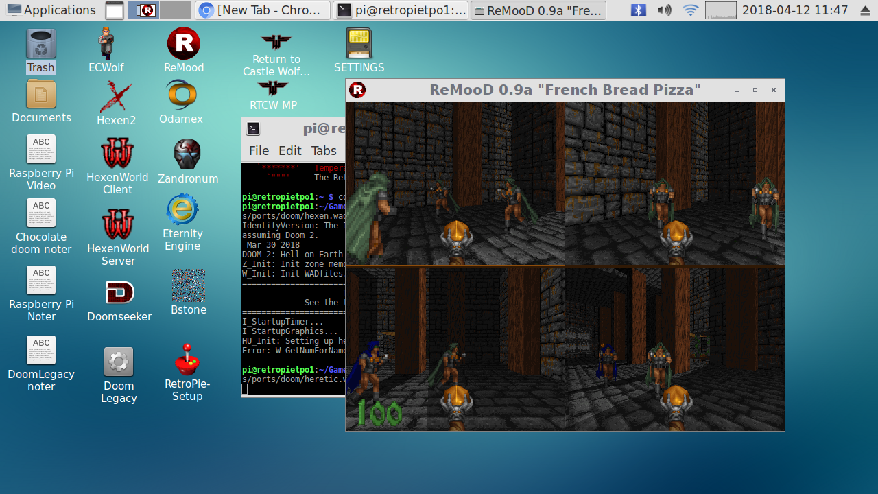 Doom Splitscreen (mostly there? need a hand) - RetroPie Forum