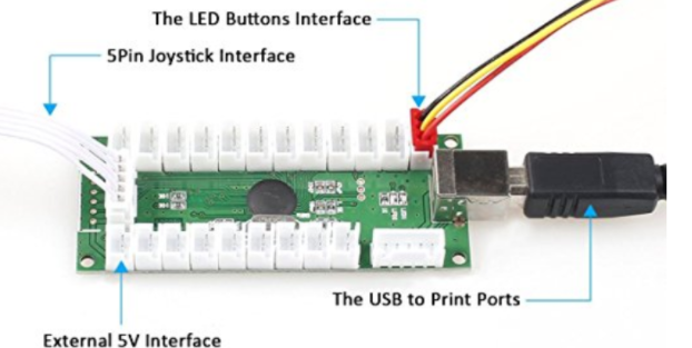 Led Arcade Button Power Supply Retropie Forum