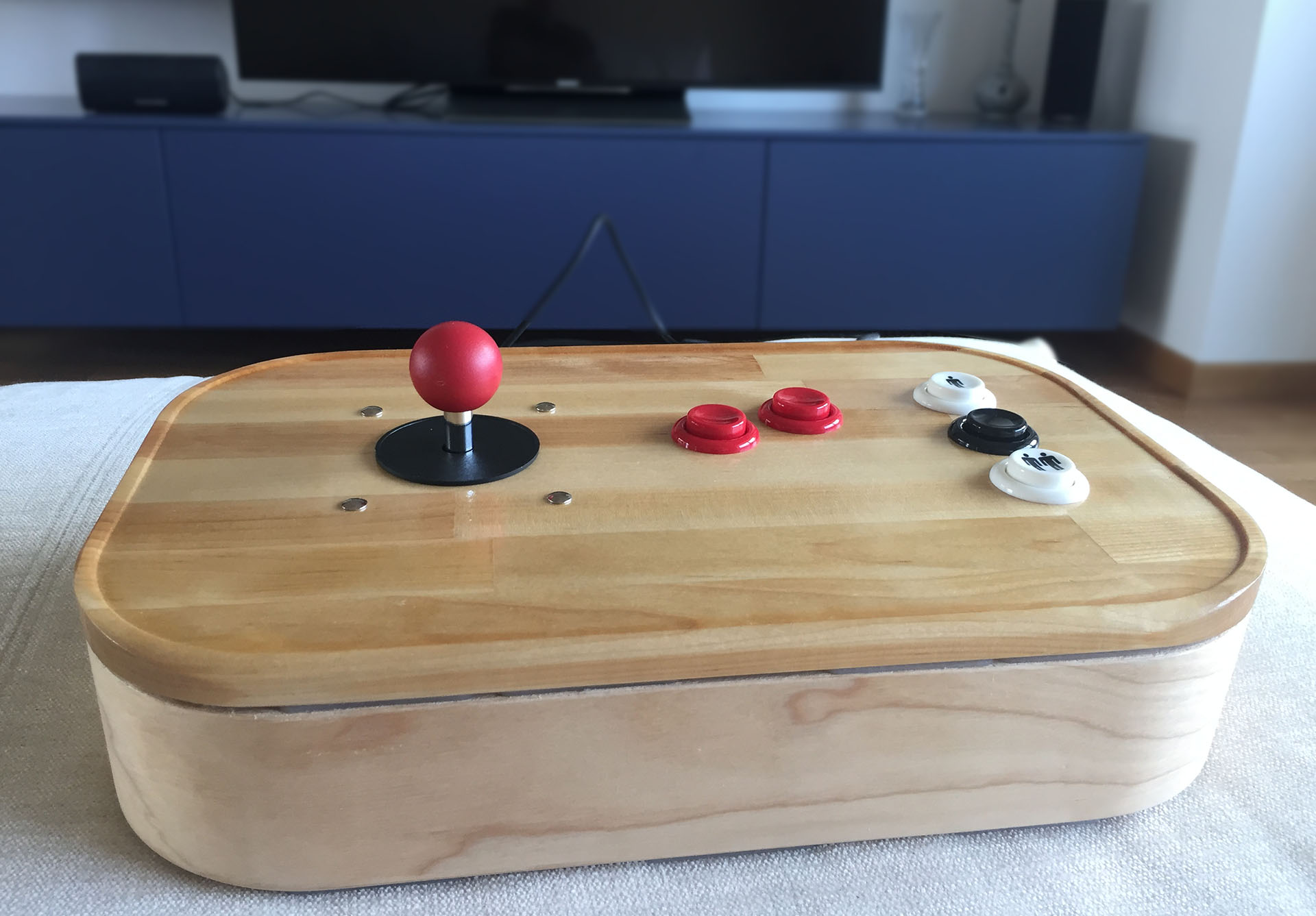4-way DIY Arcade Stick (IKEA mod) - RetroPie Forum
