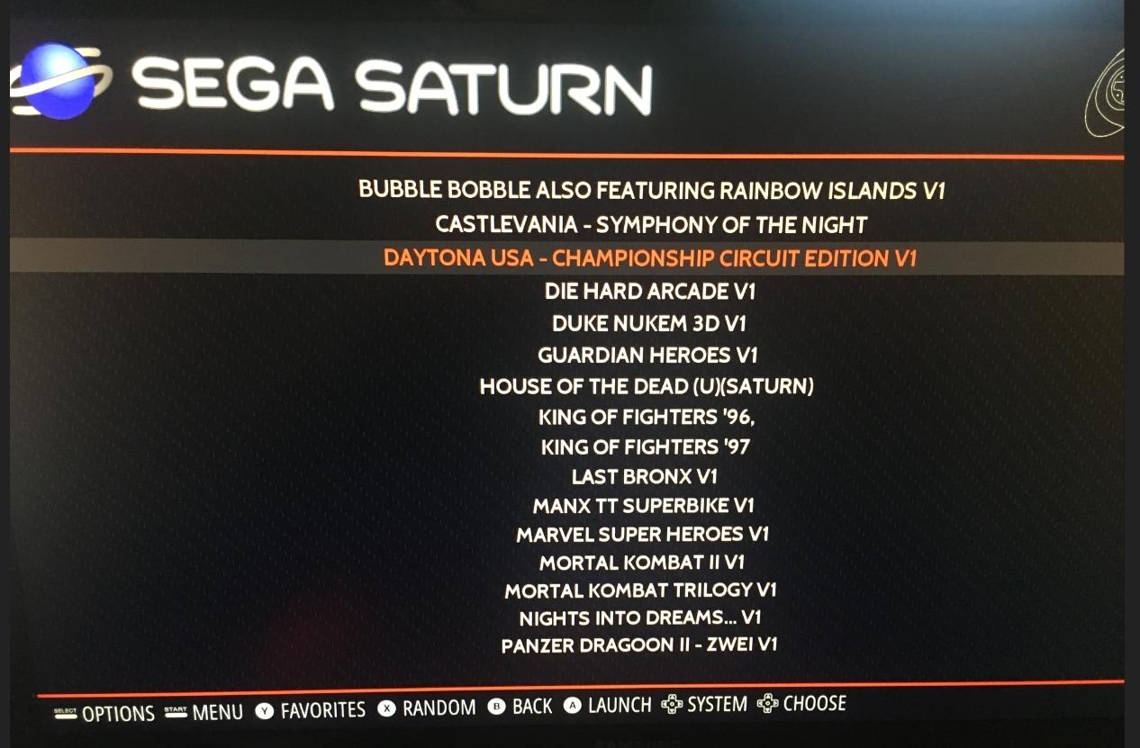 Solved] Sega saturn CD+G CHANNEL & Music doesn't work - RetroPie Forum