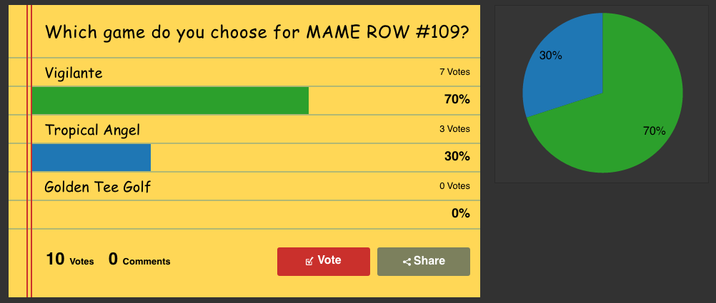 MAME ROW #109 - Vigilante - RetroPie Forum