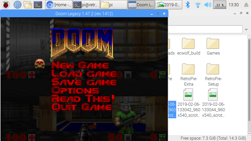 Suggestion for Doom Legacy split screen wads folder - RetroPie Forum