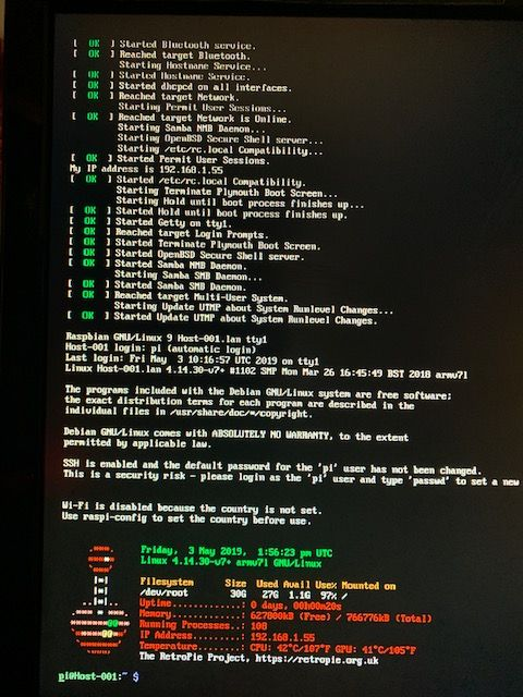 HELP!starting page Newbie/stuck /after update all package